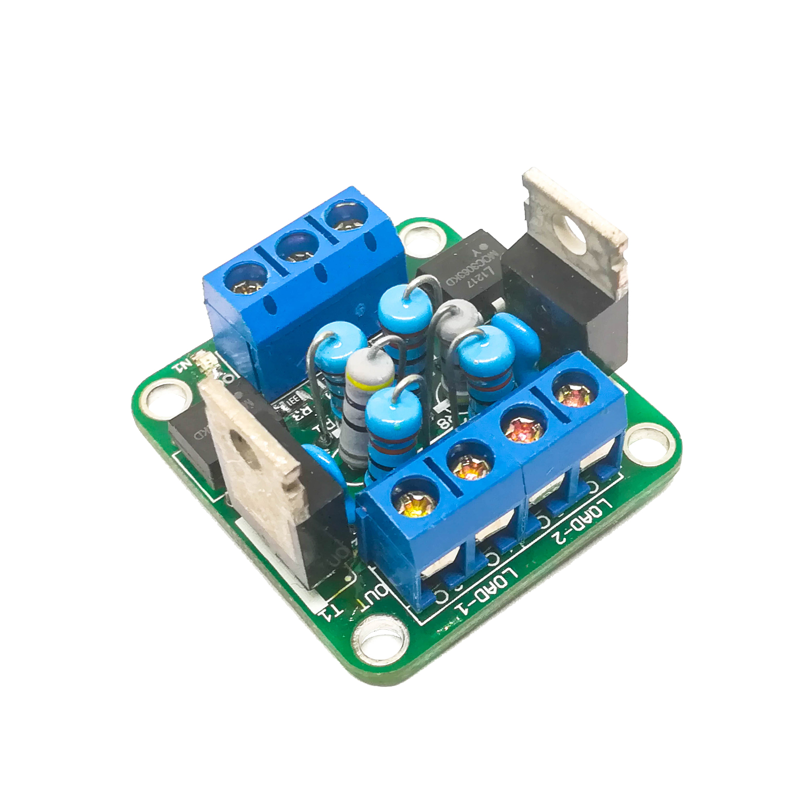 Dual Channel Opto Isolated Triac Module Aptinex Arduino Ac Light Dimmer Circuits Circuit Scr Home Power Control Modules