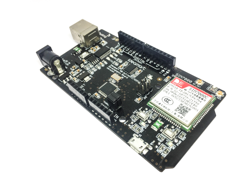 Ideamart IoT/eMTC/GSM/LTE Development Board SIM7000C ATmega328